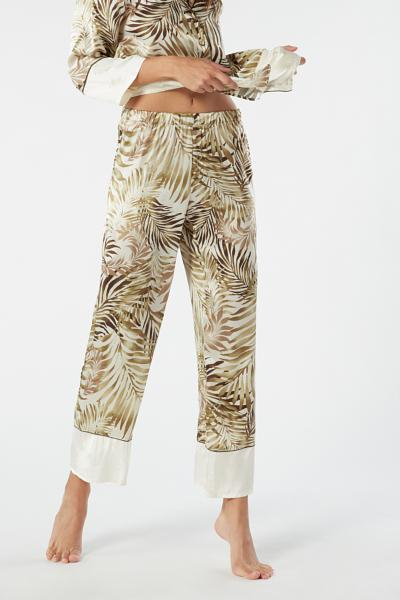 low priced f5299 a4637 Jungle Silk Palazzo Pants