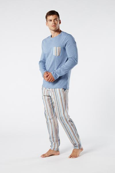 Long Cotton and Linen Pyjamas