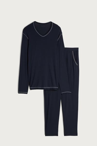 Long Micromodal Pyjamas