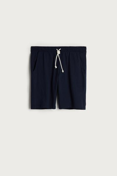 Jersey Shorts with Drawstring
