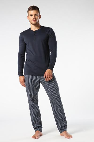Striped Cotton Pajama Pants