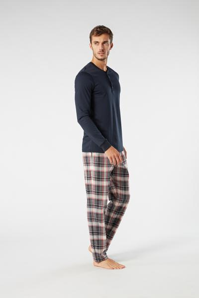 Long Tartan Trousers