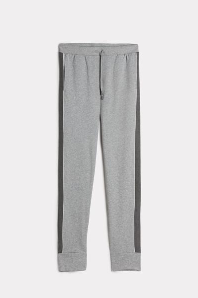 Stripe Long Fleece Trousers