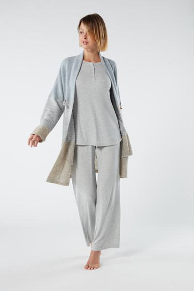 Tricot Dressing Gown