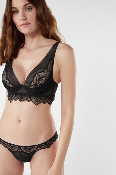 Lady Sheer Balconette Bra