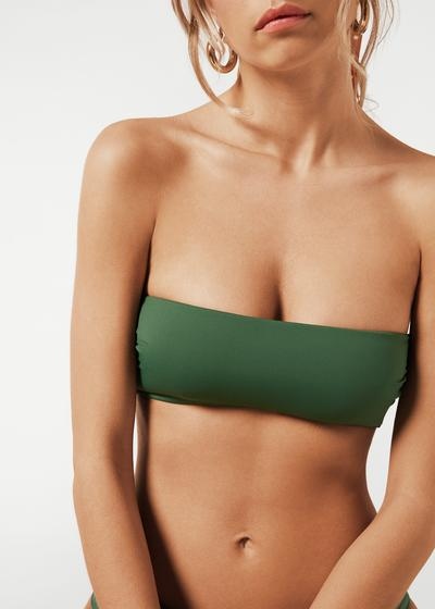 Indonesia Slightly Padded Bandeau Bikini Top
