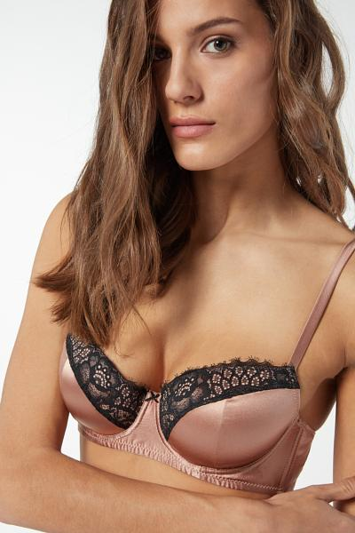 Reggiseno a Balconcino Sofia in Seta Rare Beauty