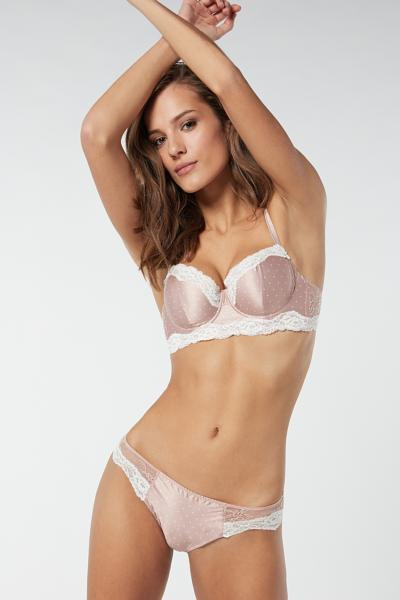 Sofia Tiny Dots Balconette Bra