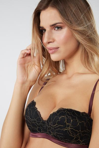 Soutien-gorge bandeau Gioia Oh My Gold
