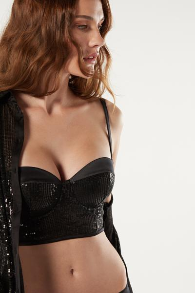 Giada Sparkling In The Night Bandeau Bra