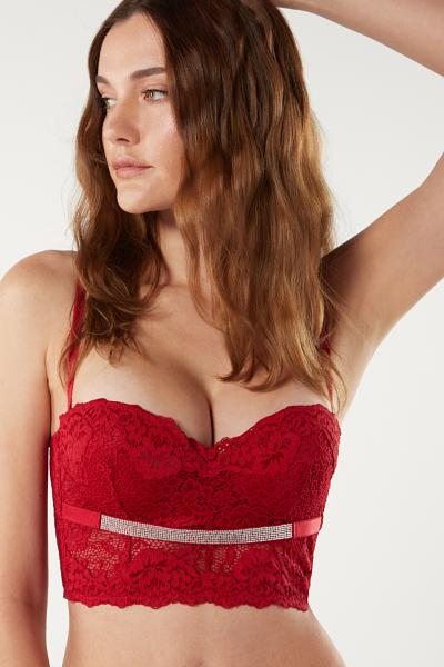Gioia Holiday Lights Bustier Bra