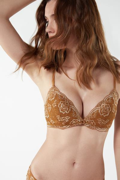 Tiziana Lace Triangle Bra