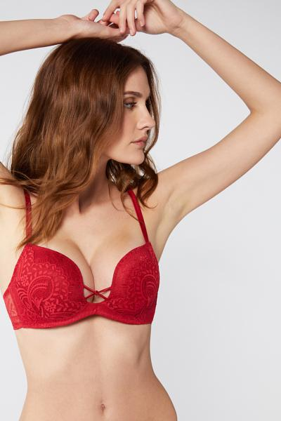 Monica Love Knot Push-up Bra