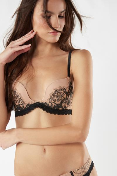 Monica Flower Ballet Push-Up Bra