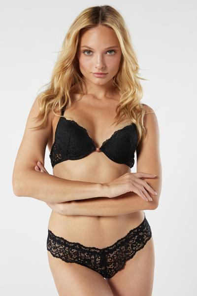 Simona Laces Lace Super Push Up Bra