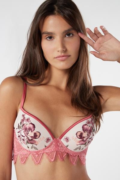Sujetador Super Push-Up Autumn Bouquet Simona
