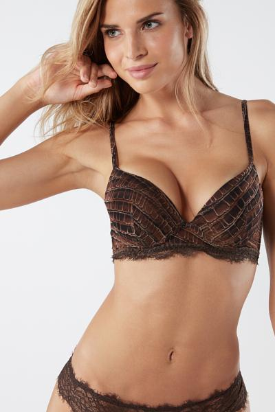 Simona Lady Crocodile Super Push-up Bra