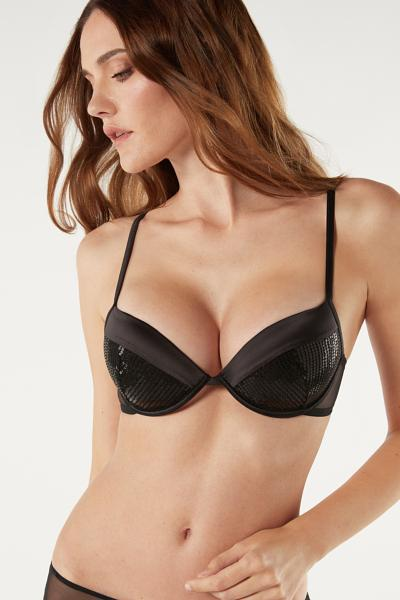 Bellissima Sparkling In The Night Push-up Bra