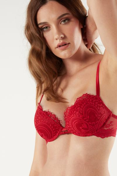 Sujetador Push-up Silvia Love Knot