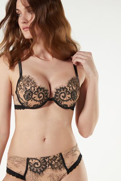 Bellissima Flower Ballet Push-Up Bra
