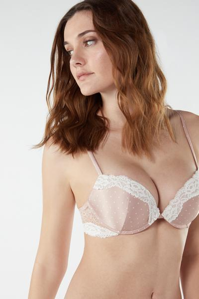 Silvia Tiny Dots Push-Up Bra