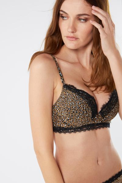 Super Push-Up Podprsenka Mia Wild Animalier