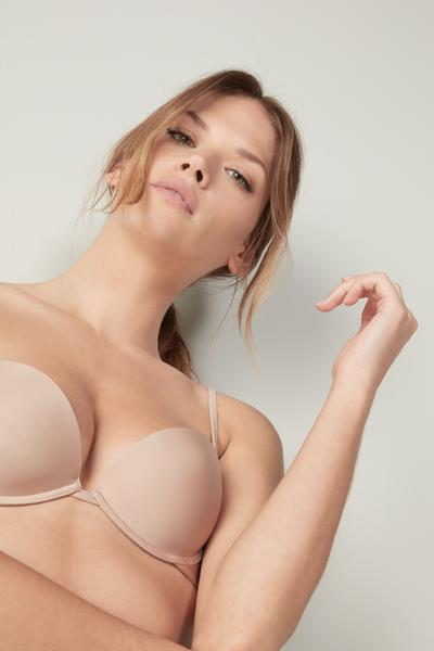 Ultralight Microfiber Silvia Push-Up Bra