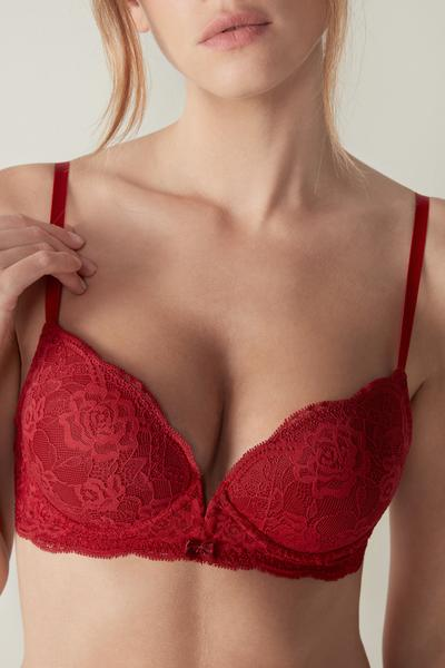 Reggiseno Super Push-Up Mia in Pizzo