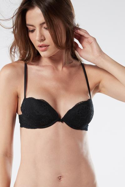 Reggiseno Push-up Silvia in Pizzo