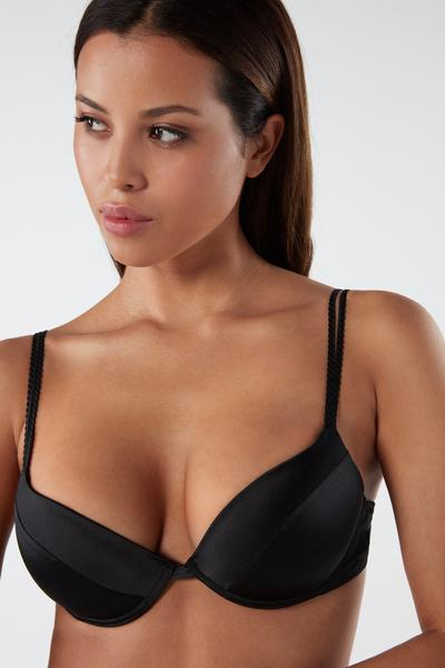 Bellissima Silk Push-Up Bra