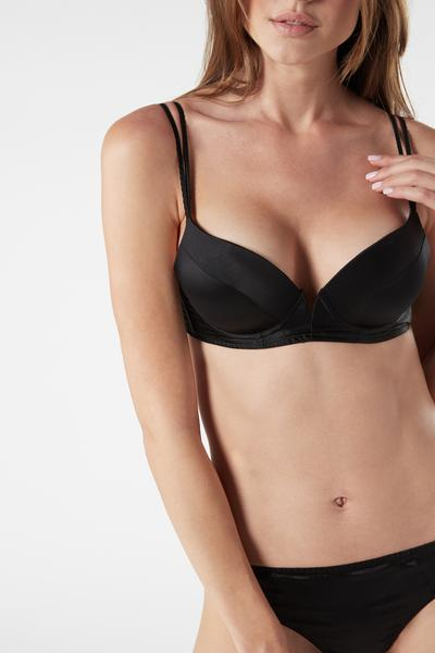 Reggiseno Super Push-Up Mia In Seta