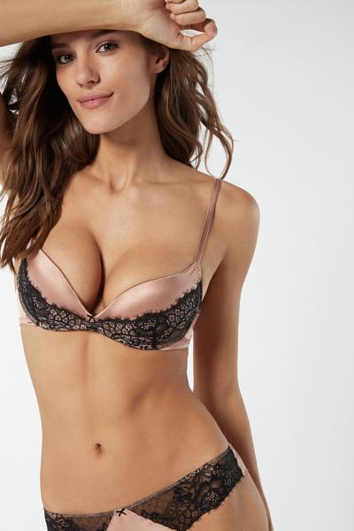 Gioia Rare Beauty Silk Super Push-Up Bra