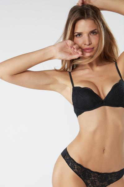 Soutien Super Push-Up Gioia em Renda