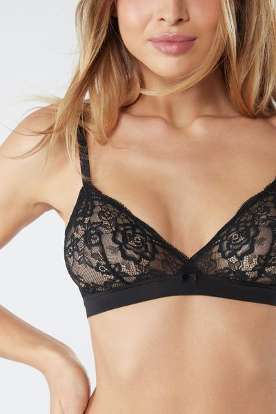 Emma Lace Triangle Bra