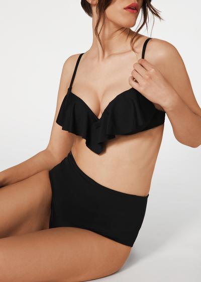 Indonesia Ultra Push Up Ruffle Bikini Top