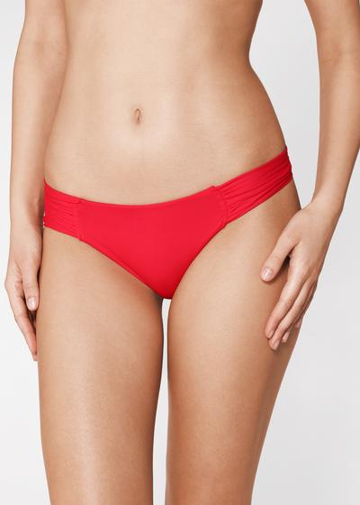 Indonesia Ruffle Brazilian Bikini Bottoms