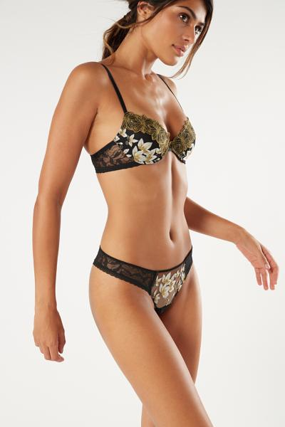 Chic Foliage Brazilian Knickers