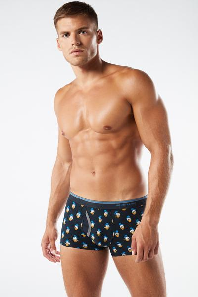 Microprinted Donald Duck© Cotton Boxers