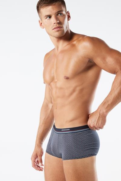 Boxer in Cotone Microstampati