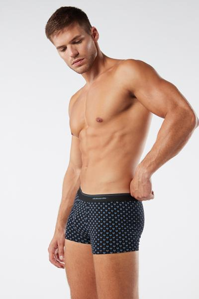 Animal Geometric Print Cotton Boxers