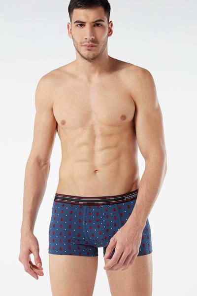 Printed Stretch Supima Cotton Boxers