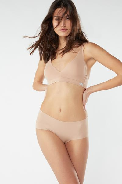 Laser-Cut Cotton French Knickers