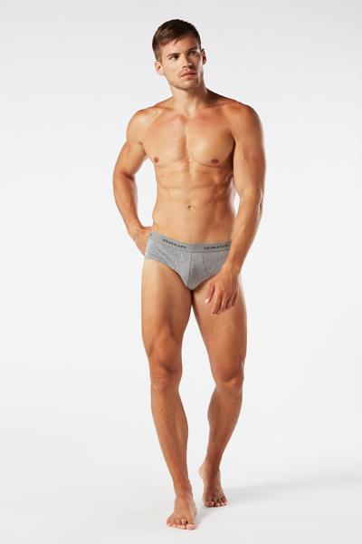 Men's Logo Detail Stretch-Cotton Briefs
