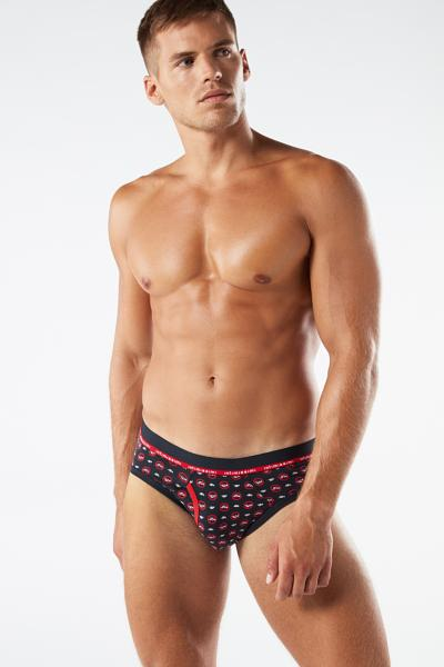 Micro Print Cotton Briefs