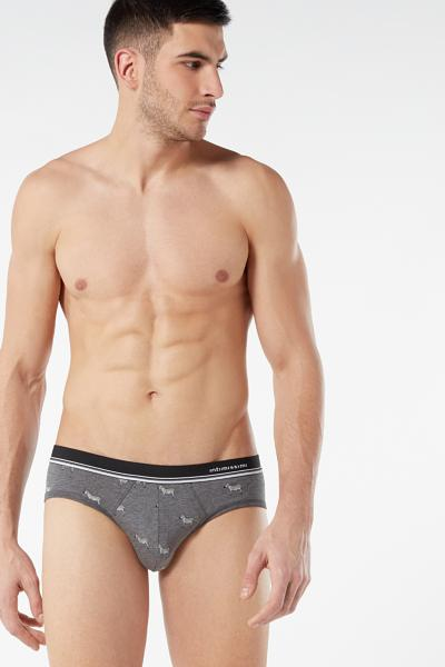 All-Over Print Stretch Supima Cotton Briefs