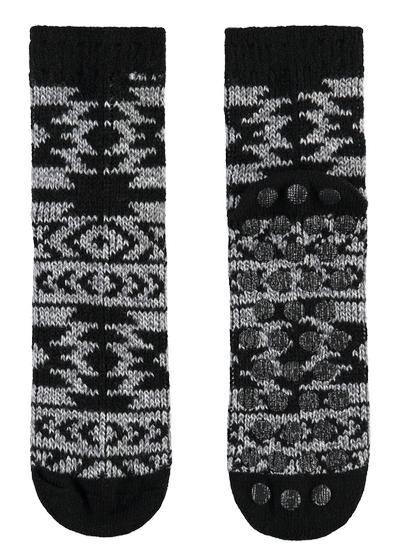 Calzini corti da uomo antiscivolo in lana fantasia