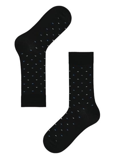 Lisle thread ankle socks