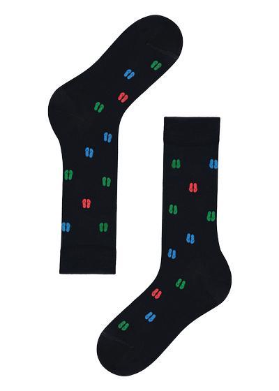 Lisle thread ankle socks