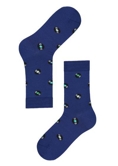 Členkové ponožky zo škótskej priadze