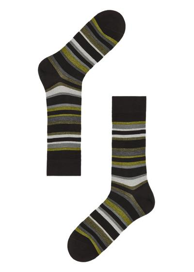 Patterned cotton ankle socks